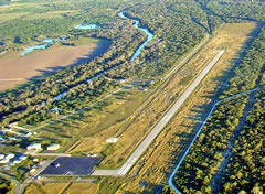 Aerial photo of 8T6 (Live Oak County Airport)