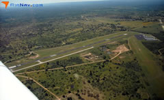 Aerial photo of KAQO (Llano Municipal Airport)