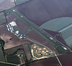 Aerial photo of KCVB (Castroville Municipal Airport)