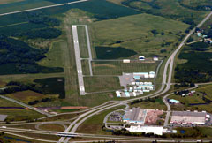 Aerial photo of KFBL (Faribault Municipal Airport-Liz Wall Strohfus Field)