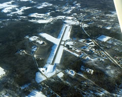 Aerial photo of KBST (Belfast Municipal Airport)