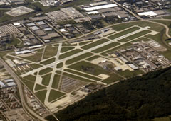 Aerial photo of KPWK (Chicago Executive Airport)