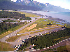 Aerial photo of PAWD (Seward Airport)