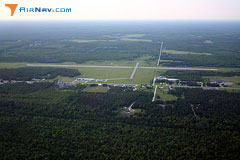 Aerial photo of KISQ (Schoolcraft County Airport)