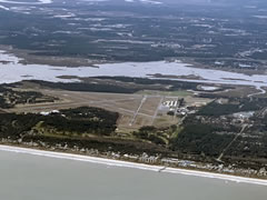 Aerial photo of KFHB (Fernandina Beach Municipal Airport)