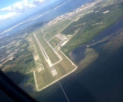 Aerial photo of KMCF (MacDill Air Force Base)