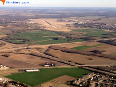 Aerial photo of KBLV (Scott Air Force Base/MidAmerica Airport)