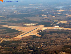 Aerial photo of KGRD (Greenwood County Airport)