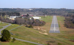 Aerial photo of 11A (Clayton Municipal Airport)