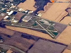 Aerial photo of C73 (Dixon Municipal Airport-Charles R. Walgreen Field)