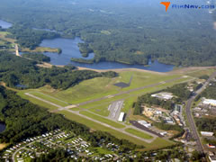 Aerial photo of KIJD (Windham Airport)