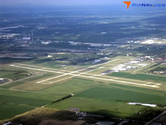 Aerial photo of KLOT (Lewis University Airport)