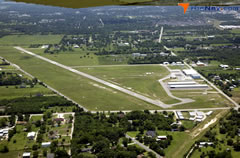Aerial photo of KHPY (Baytown Airport)
