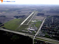 Aerial photo of KAUM (Austin Municipal Airport)