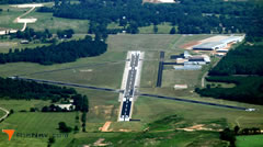Aerial photo of KRFI (Rusk County Airport)