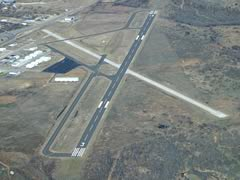 Aerial photo of KRPH (Graham Municipal Airport)