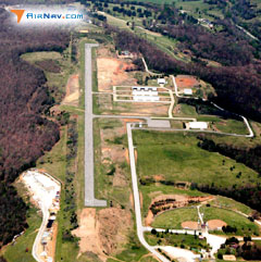 Aerial photo of H34 (Huntsville Municipal Airport)