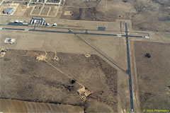 Aerial photo of KSNK (Winston Field Airport)