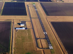 Aerial photo of KPKV (Calhoun County Airport)
