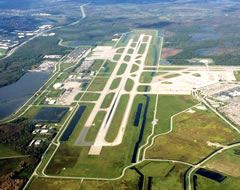 Aerial photo of KRSW (Southwest Florida International Airport)