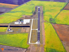Aerial photo of KITR (Kit Carson County Airport)