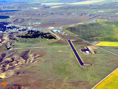 Aerial photo of 79S (Fort Benton Airport)