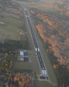 Aerial photo of 3M8 (North Pickens Airport)