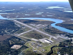 Aerial photo of PAKN (King Salmon Airport)