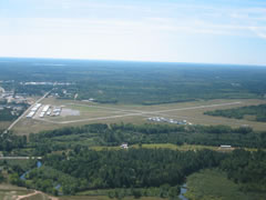 Aerial photo of KEGV (Eagle River Union Airport)