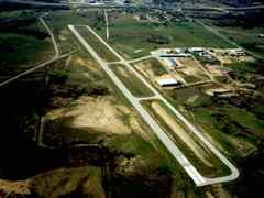 Aerial photo of KLUD (Decatur Municipal Airport)