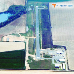 Aerial photo of 5M1 (De Witt Municipal Airport Whitcomb Field)