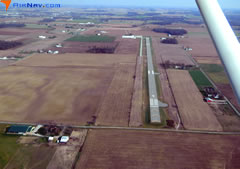 Aerial photo of KVES (Darke County Airport)