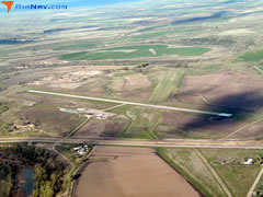 Aerial photo of KHSR (Hot Springs Municipal Airport)