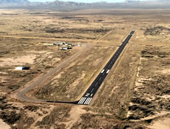 Aerial photo of P33 (Cochise County Airport)