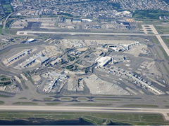 Aerial photo of KJFK (John F Kennedy International Airport)