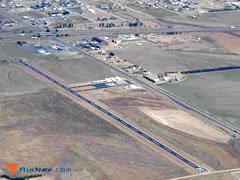 Aerial photo of 0H1 (Trego Wakeeney Airport)