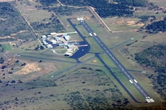 Aerial photo of KBKD (Stephens County Airport)