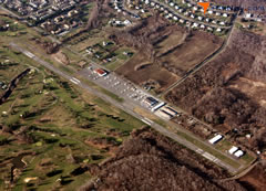 Aerial photo of N87 (Trenton-Robbinsville Airport)