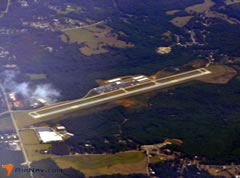 Aerial photo of KLQK (Pickens County Airport)