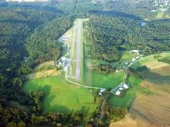 Aerial photo of 6G5 (Barnesville-Bradfield Airport)