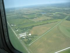 Aerial photo of IA24 (Green Castle Airport)