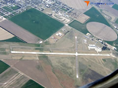 Aerial photo of KGLD (Renner Field (Goodland Municipal Airport))