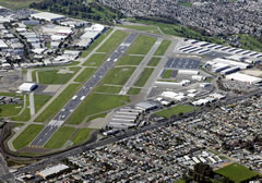 Aerial photo of KHWD (Hayward Executive Airport)