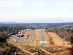 Aerial photo of KGOO (Nevada County Airport)