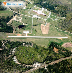 Aerial photo of 37T (Calico Rock-Izard County Airport)