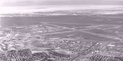 Aerial photo of KHMN (Holloman Air Force Base)