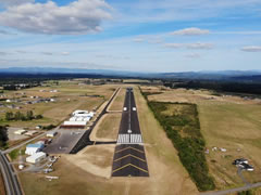 Aerial photo of KTDO (Ed Carlson Memorial Field - South Lewis Co Airport)