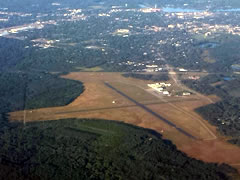 Aerial photo of KSTE (Stevens Point Municipal Airport)