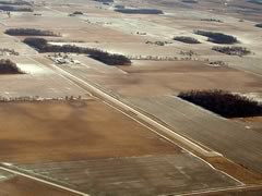 Aerial photo of 56D (Wyandot County Airport)