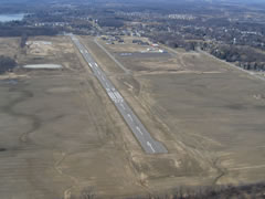 Aerial photo of 9G2 (Price's Airport)